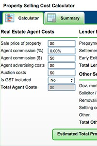 Property Selling Cost Calculator
